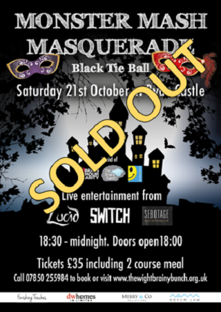 Monster Mash Masquerade Ball 21st October 2017